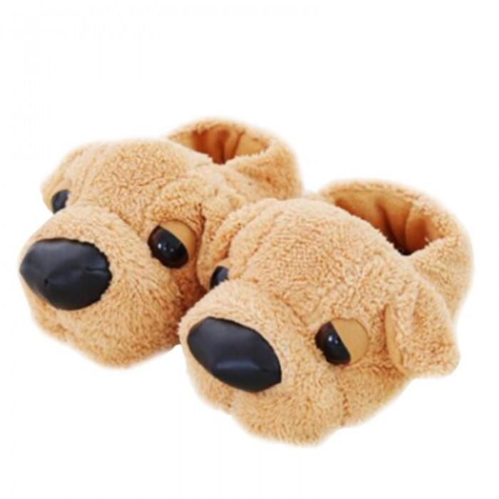 Pantoufles chien animal