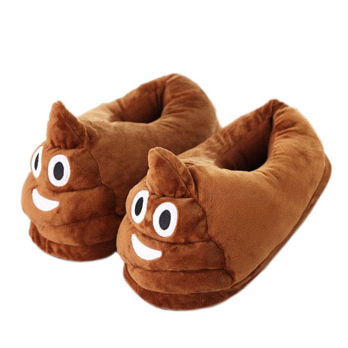 Pantoufles Caca Emoji